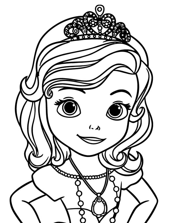 Sofia the First Coloring Pages - Fotolip.com Rich image ...
