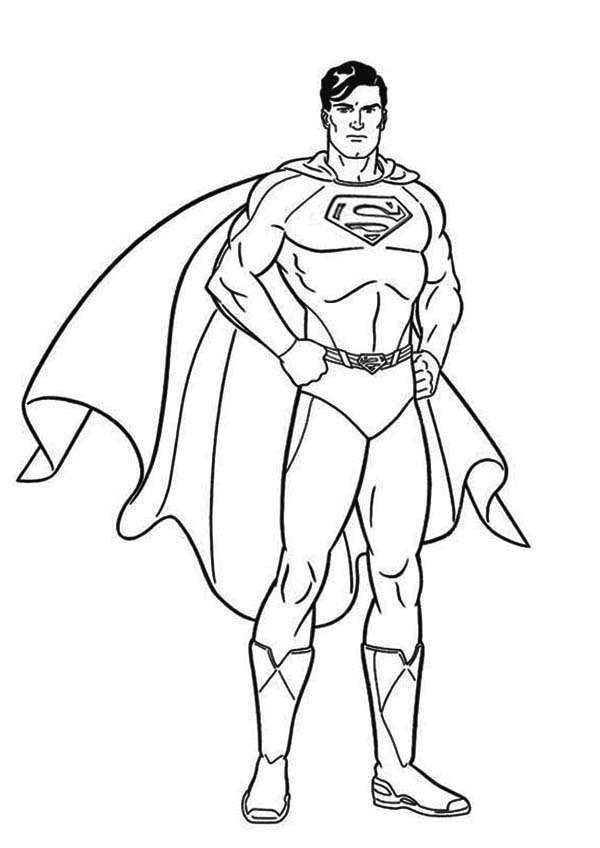 Superman Coloring Pages Mesmerizing Superman Coloring Pages  Fotolip Rich Image And Wallpaper