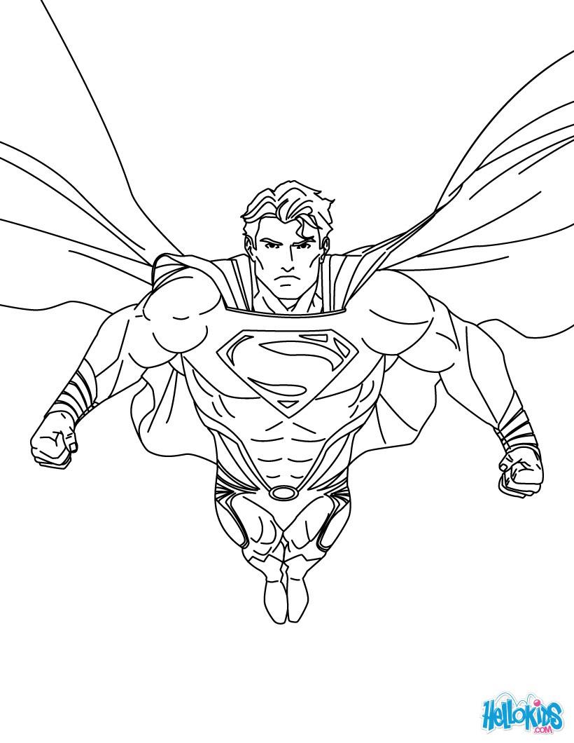Superman coloring pages - Fotolip