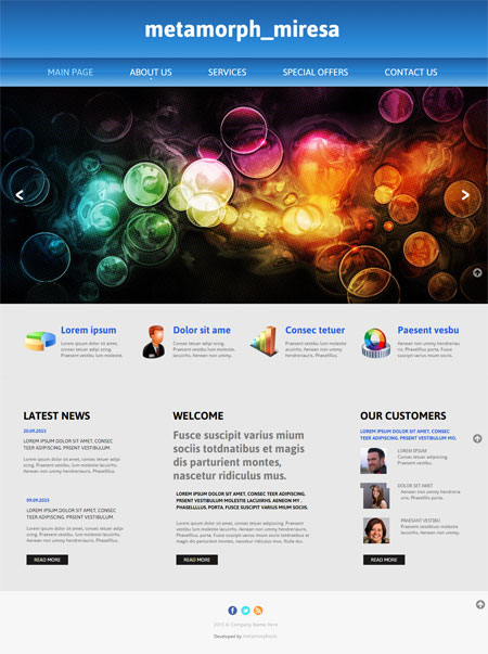Best Website Templates Free 2018