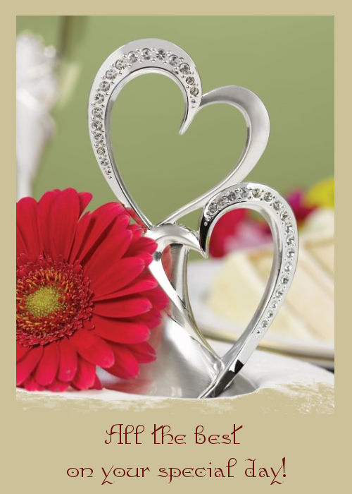 Wedding wishes card - Fotolip