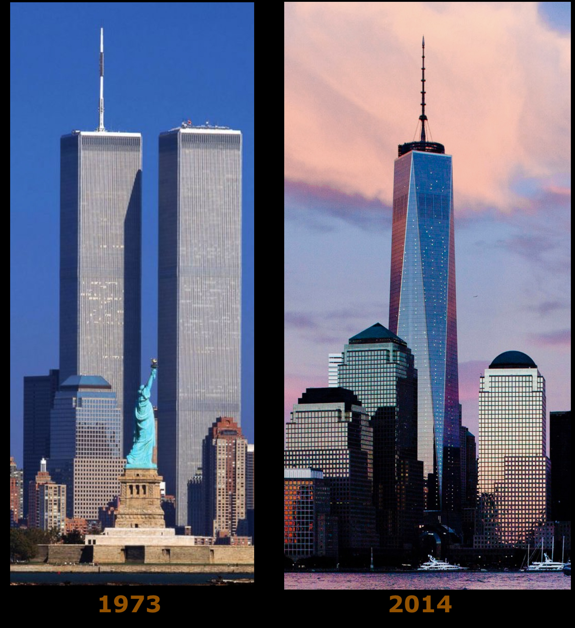 World Trade Center 1972 2014 Fotolip Com Rich Image