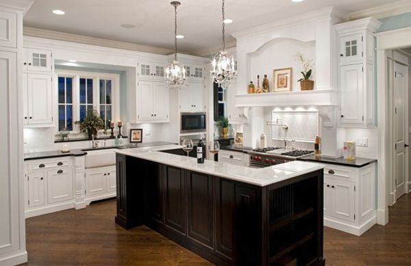 American Kitchencolor contrast | Kitchens | Pinterest