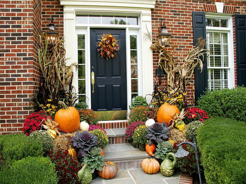 Autumn Home Decor Ideas Beautiful Stunning Outdoor Home Fall