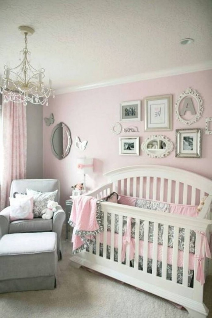 baby girl room ideas collection on Pinterest   Babies Nursery