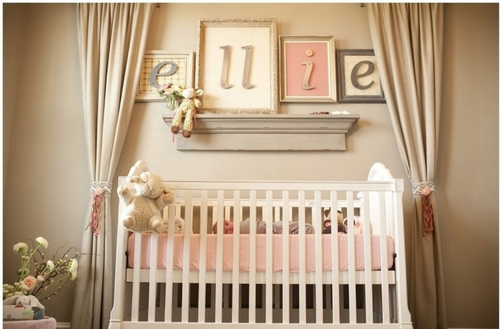 Baby girl room decor ideas rich image and for Baby girl room decoration ideas