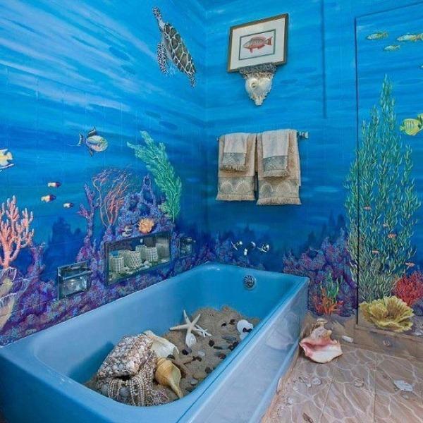 Beach Themed Bathroom Decorating Ideas | Room Decorating Ideas
