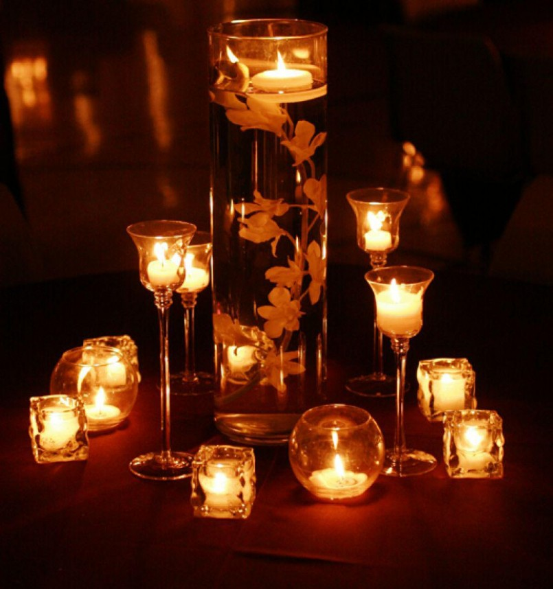 The importance of candle in home decoration for House table decorations