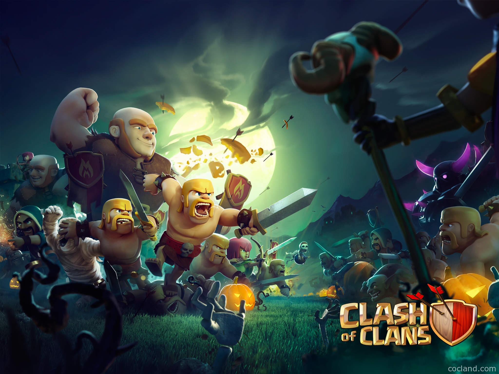 Clash of Clans Wallpaper HD