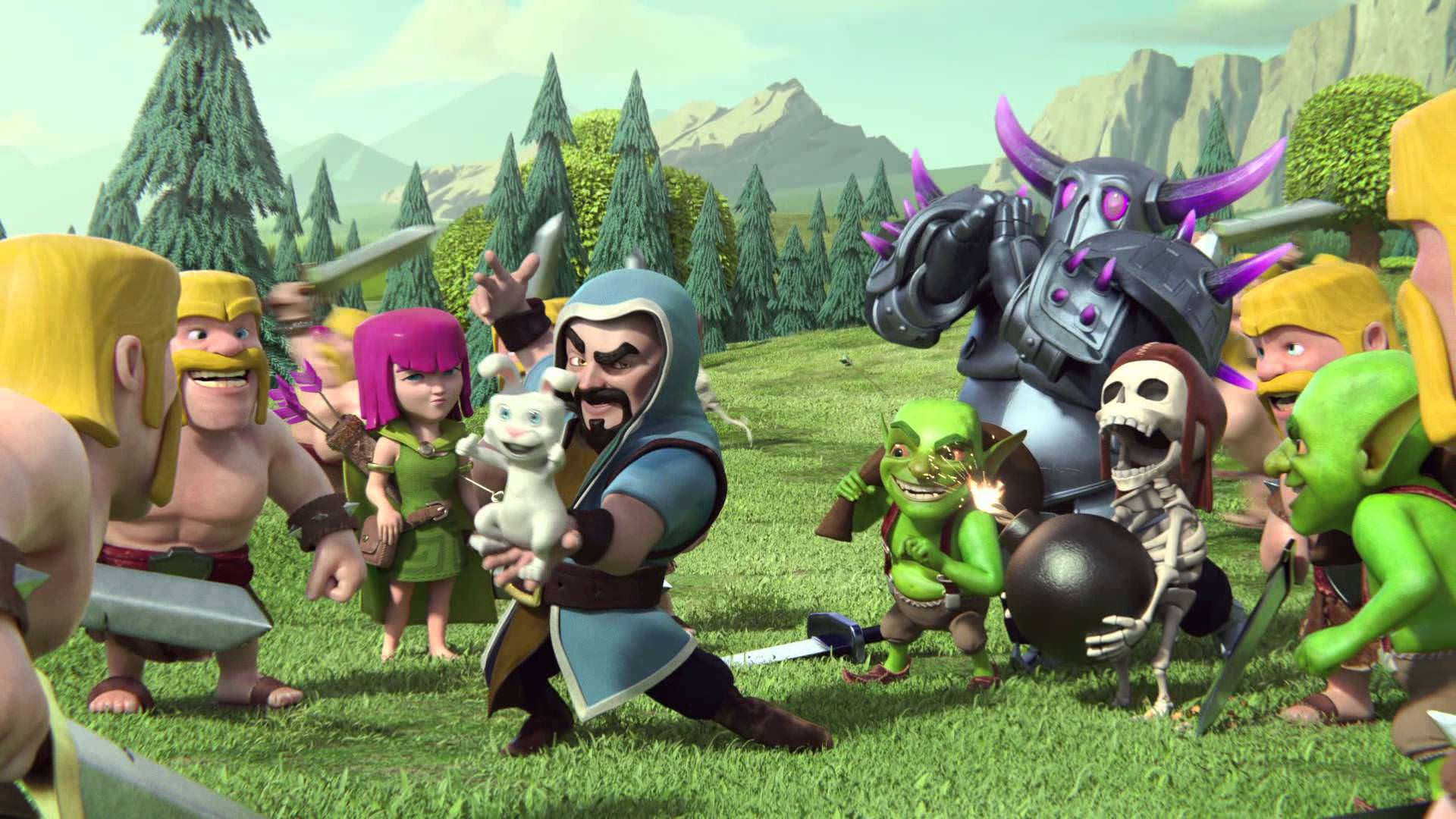Clash Of Clans Wallpaper HD Fotolip