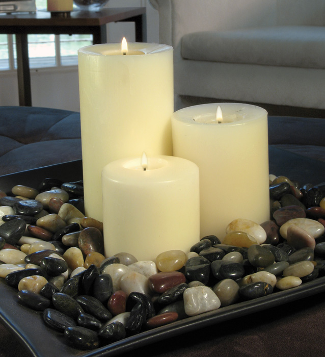 The importance of candle in home decoration for At home accents