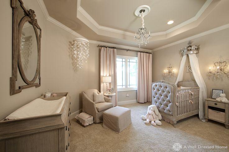 Elegant Baby Nursery on Pinterest   Babies Nursery, Nurseries