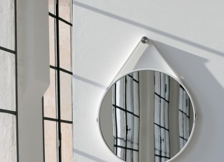 George 24in Round Mirror - Modern - Wall Mirrors - new york