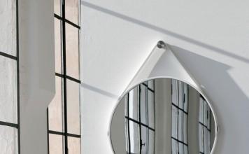 George 24in Round Mirror - Modern - Wall Mirrors - new york
