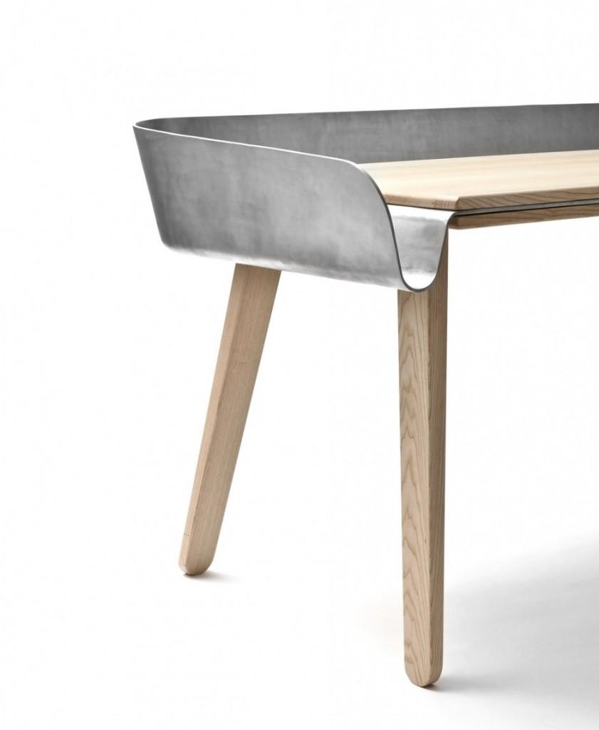 Homework Work Table by Tomas Kral for super-ette