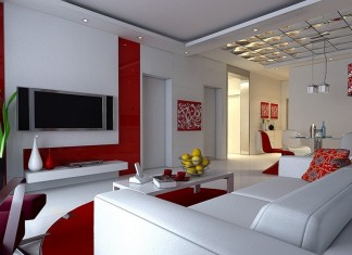 Living Room: Living Room Color Design For Small House With