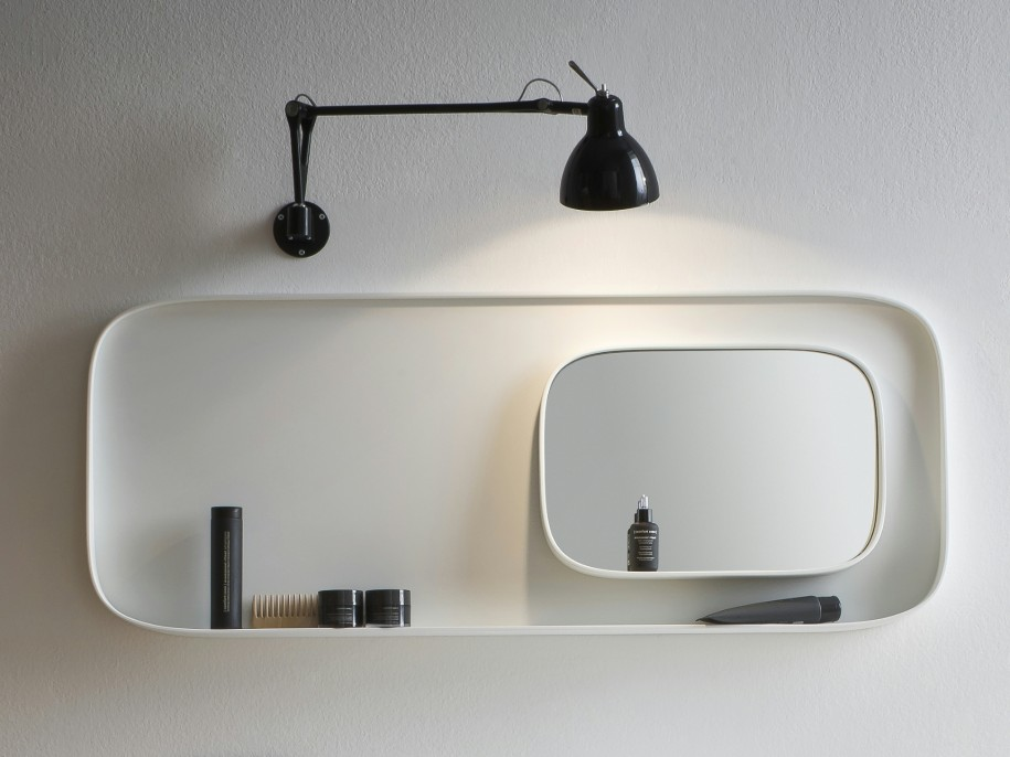 Modern Hanging Bathroom Mirror Ideas with Best Lighting