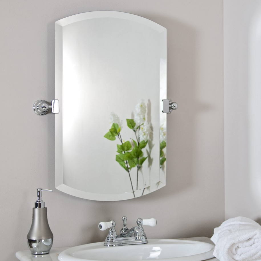 Modern Hanging Bathroom Mirror Ideas with Best Lighting