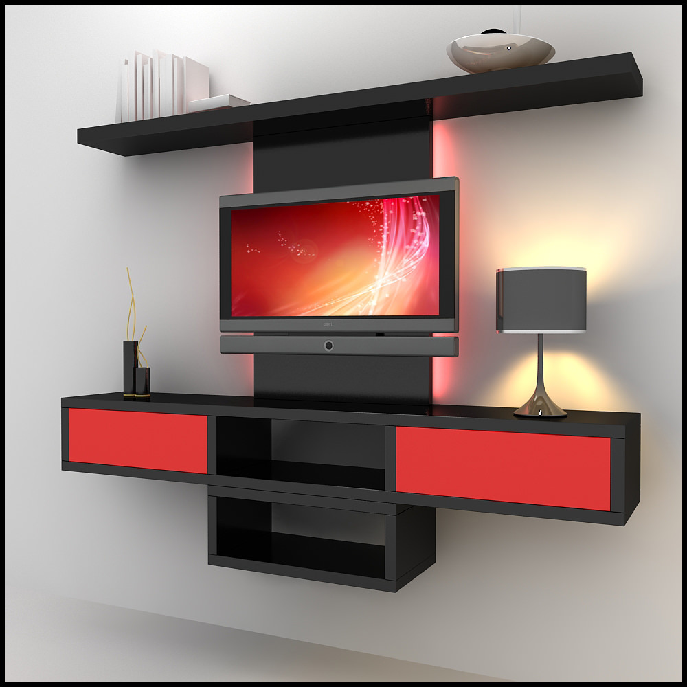 Modern lcd tv wall units | danaspeftop