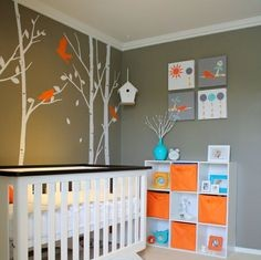 Nursery Decorating Ideas on Pinterest | Nursery Design