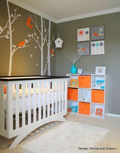 Nursery Decorating Ideas on Pinterest   Nursery Design