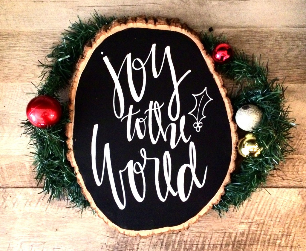 Peace on earth 12x12 canvas sign holiday decor by ADEprints