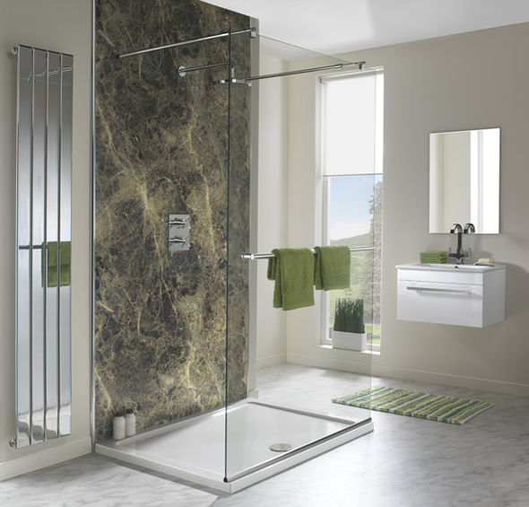 Shower Wall Panels, Waterproof bathroom panels, wet wall boards