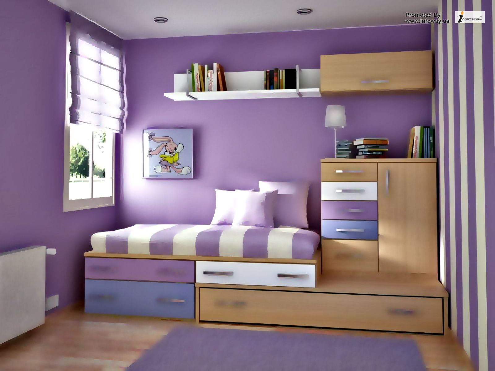 How To Paint A Room To Look Bigger - How to make a small bedroom look bigger