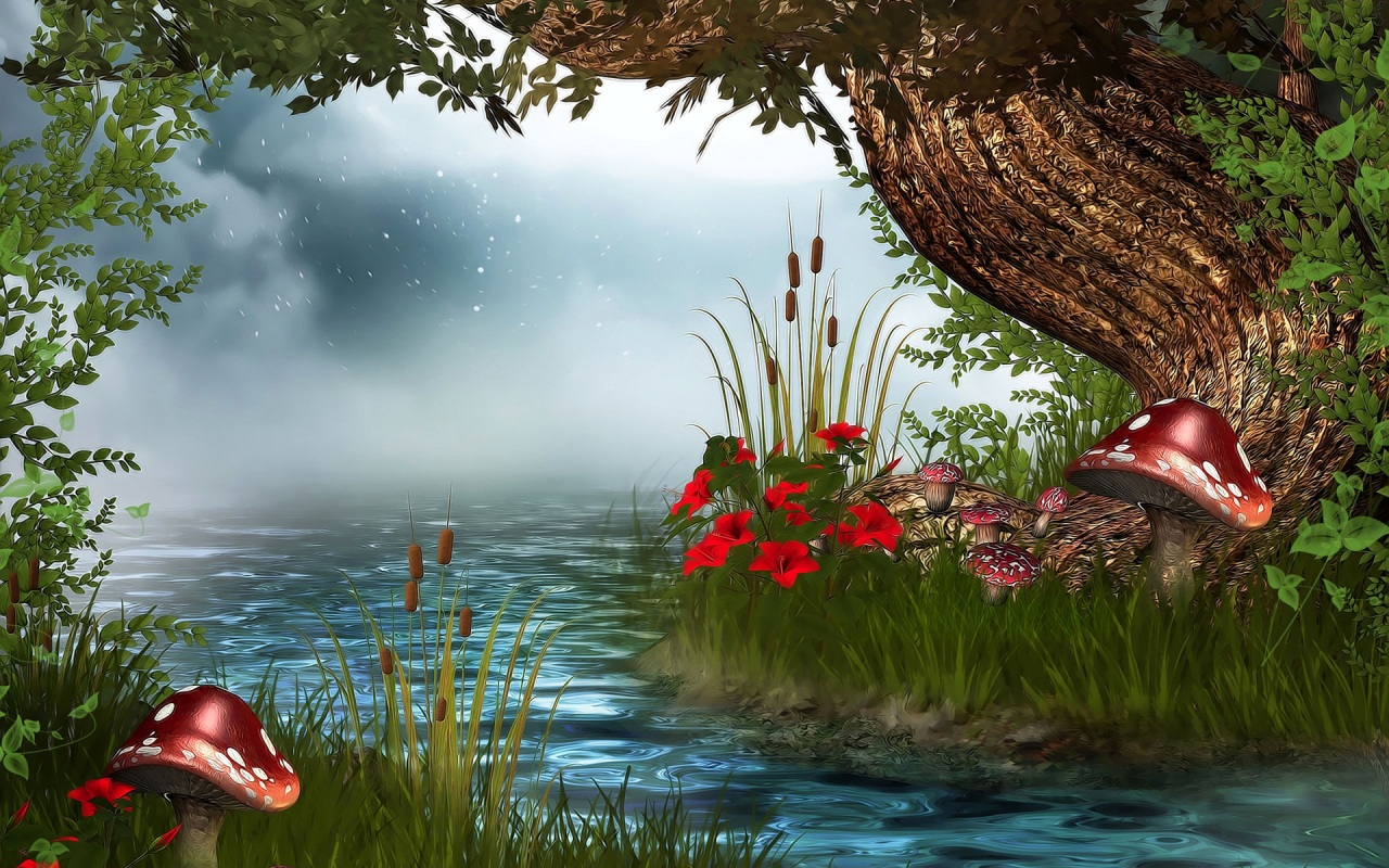 3D Nature Wallpaper