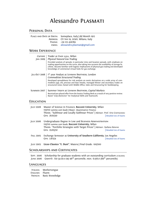 Assignment template latex