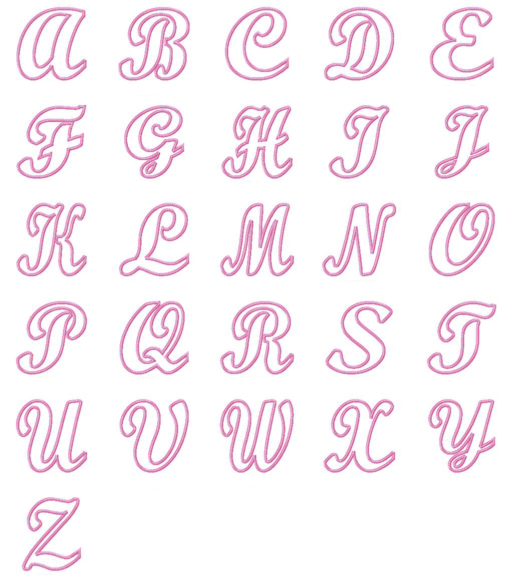 Fancy Cursive Bubble Letters Cursive Letters Generator Fancy