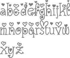 Inspirational Cursive Bubble Letters