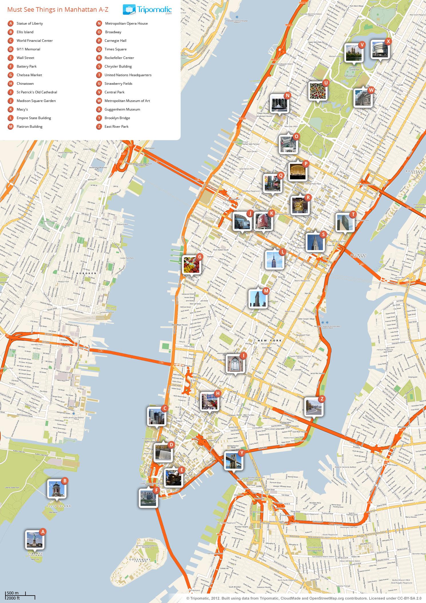 New York City Maps