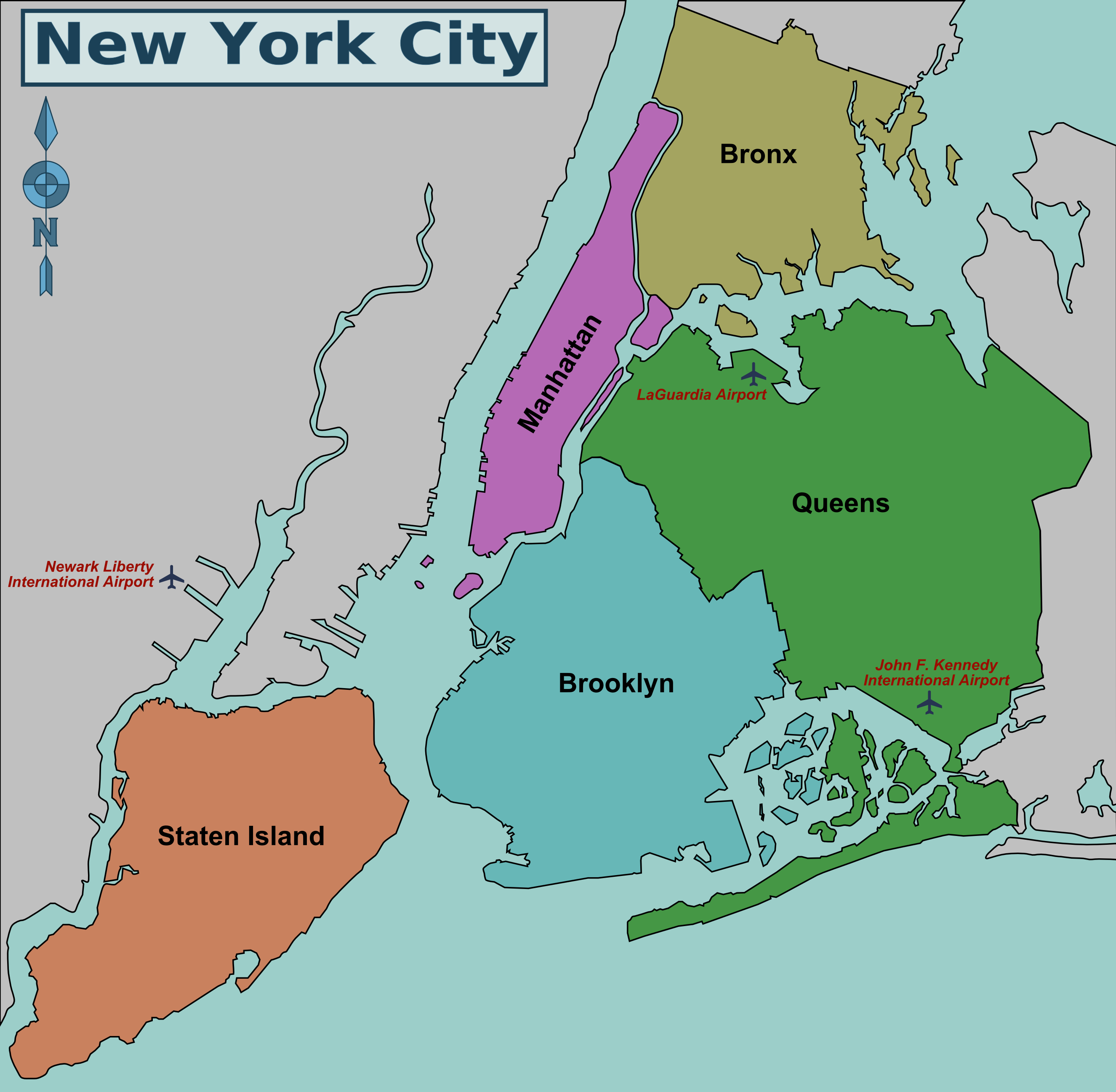 New York City Maps