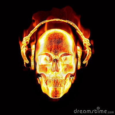 flaming skull fotolip   rich image and wallpaper