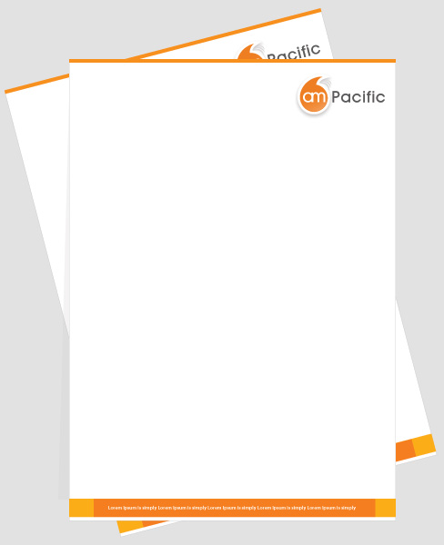 Professional Company Letterhead Template: Fotolip.com Rich Image And Wallpaper