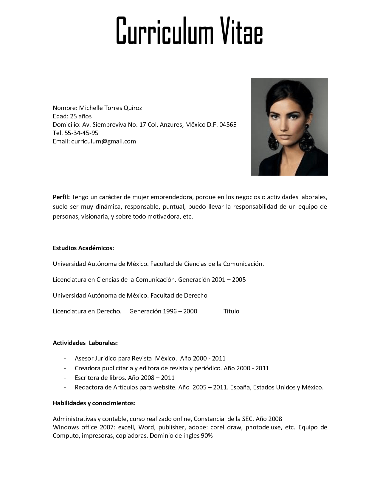 Curriculum Vitae Fotolip Com Rich Image And Wallpaper