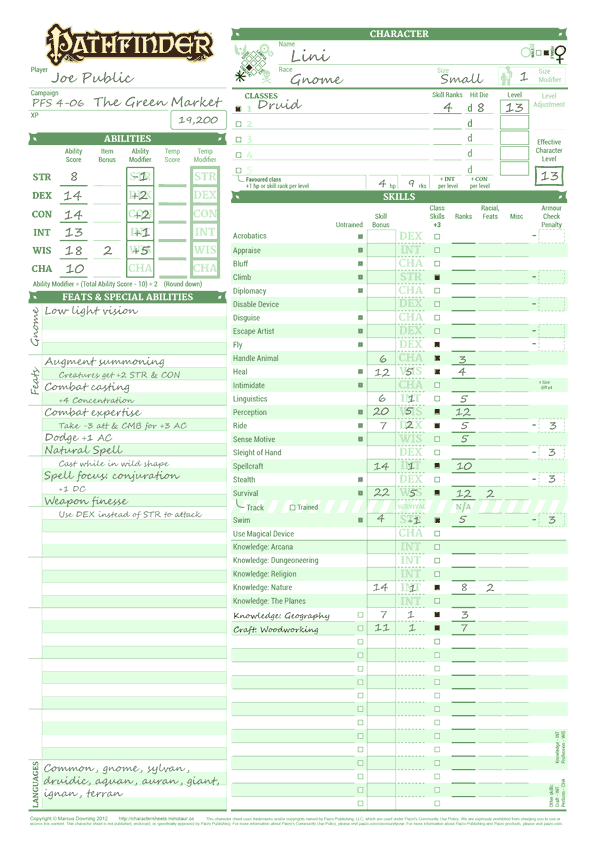pathfinder advanced player's guide pdf