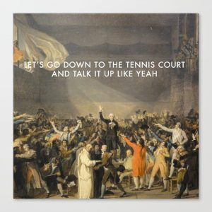 how were the tennis court oath and the american declaration of independence similar how were they di Two very important pieces of political ideology that were produced around this time period were the declaration of the rights of man and citizen and the tennis court oath both voiced the opinions of an oppressed people, one through a formal document and other through a speech [2].
