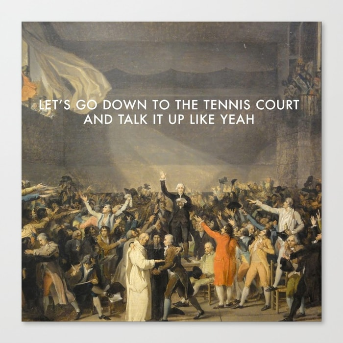 what was the purpose of the tennis court oath