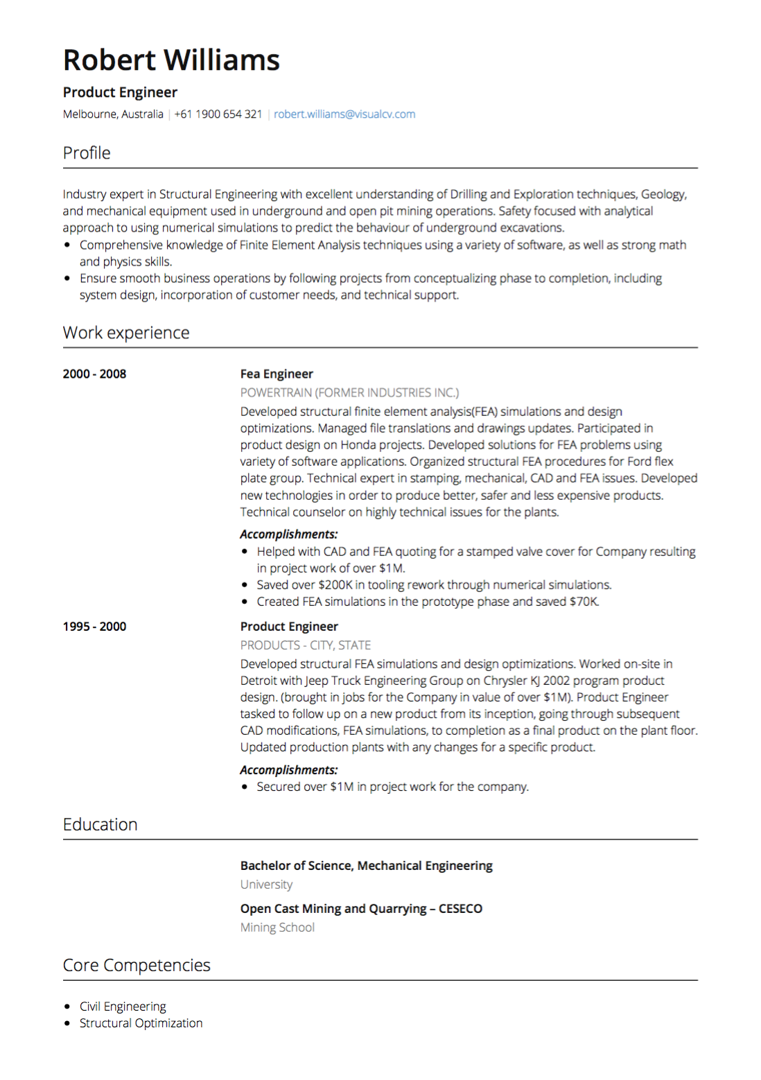 Resume Objective Types and Examples - Fotolip