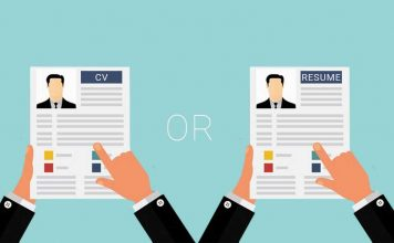 Formats of CV and Resume