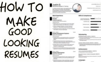 About how to write a well resume