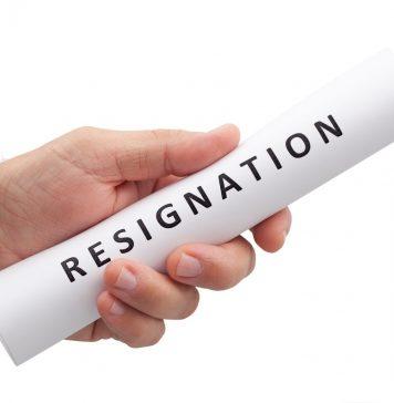 A Resignation Letter