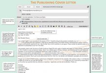 E-mail Cover Letter