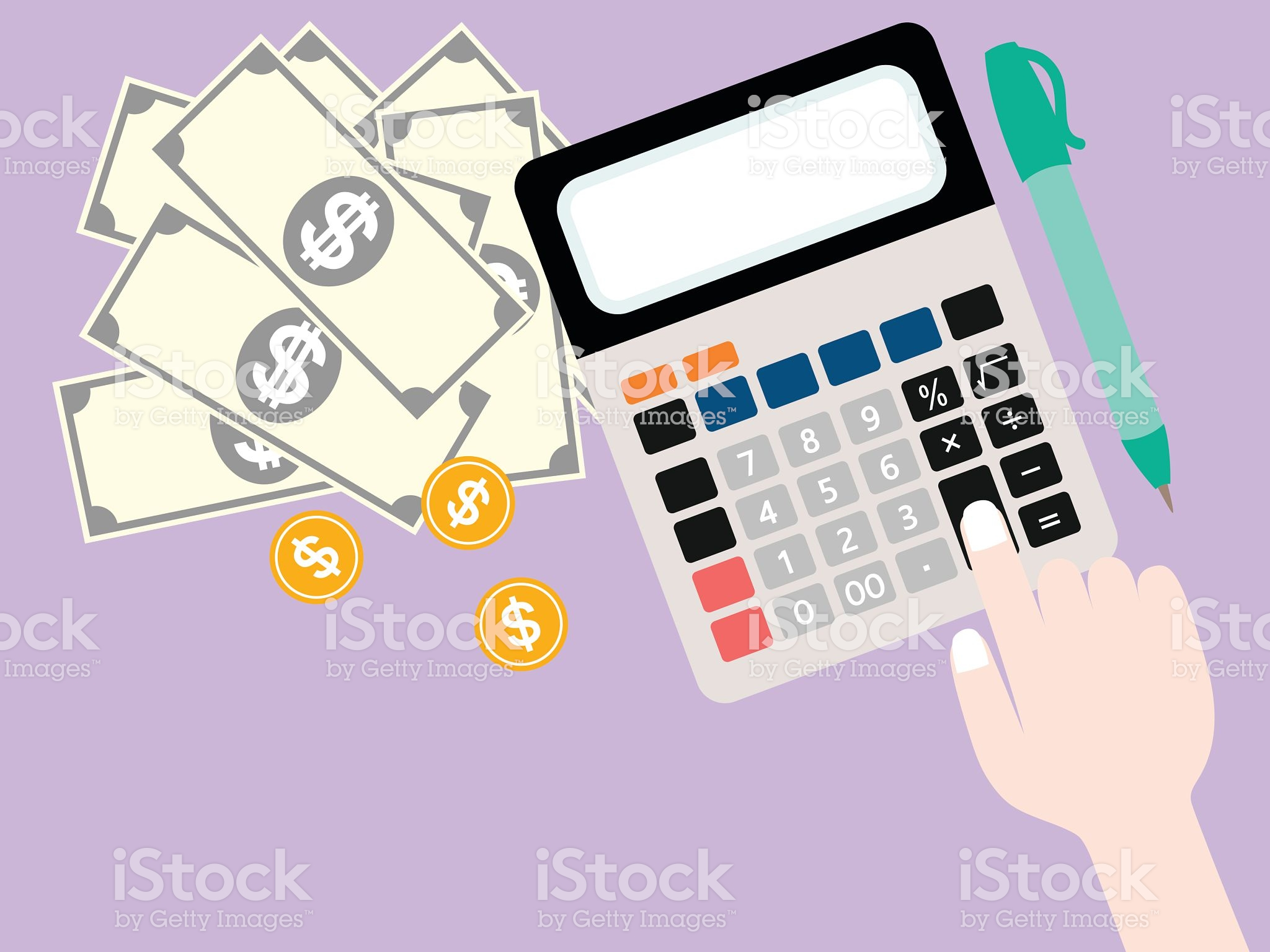 Retail Skill Calculation - istockphoto.com