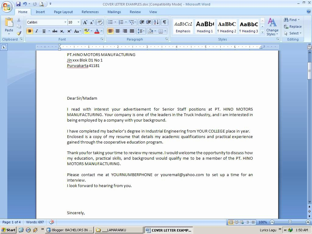 Cover Letter of Microsoft - mymfunding.com