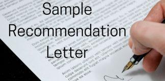 Recommendation Letter - collegeshortcuts.com
