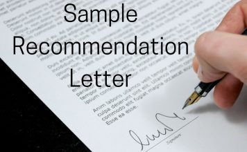 Recommendation Letter - collegeshortcuts.com