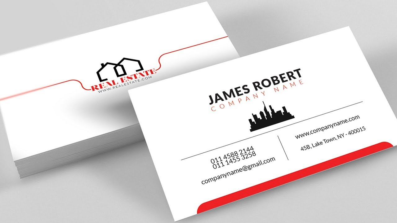 Points to Note in Business Card Template - Fotolip